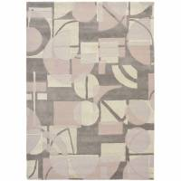Harlequin Segments Rug 151914 Stone (Select Size)