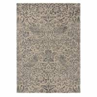 William Morris & Co Pure Strawberry Thief Rug 28105 Ink (Select Size)