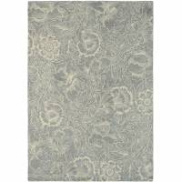 William Morris & Co Poppy Rug 28404 Dove (Select Size)
