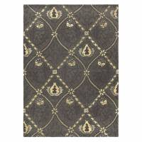 William Morris & Co Pure Trellis Rug 29105 Black Ink (Select Size)