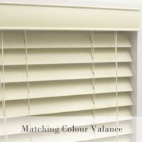 Basswood Blind Colour Oyster 35mm Slats
