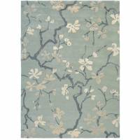 Sanderson Anthea Rug 256904 China Blue (Select Size)