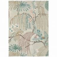 Sanderson Rainforest Rug 50701 Orchid Grey (Select Size)