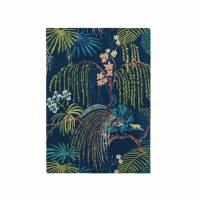 Sanderson Rainforest Rug 50708 Tropical Night (Select Size)