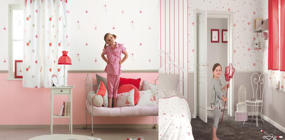 jules et julie fabrics wallpapers from casadeco. Black Bedroom Furniture Sets. Home Design Ideas