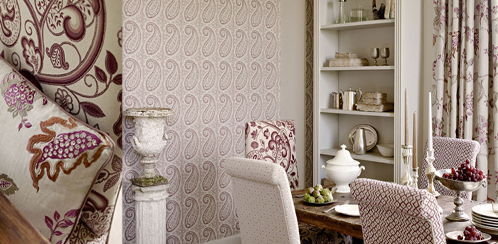 Richmond Hill Prints Embroideries From Sanderson