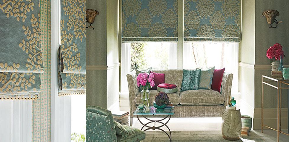 Aegean Fabrics From Sanderson