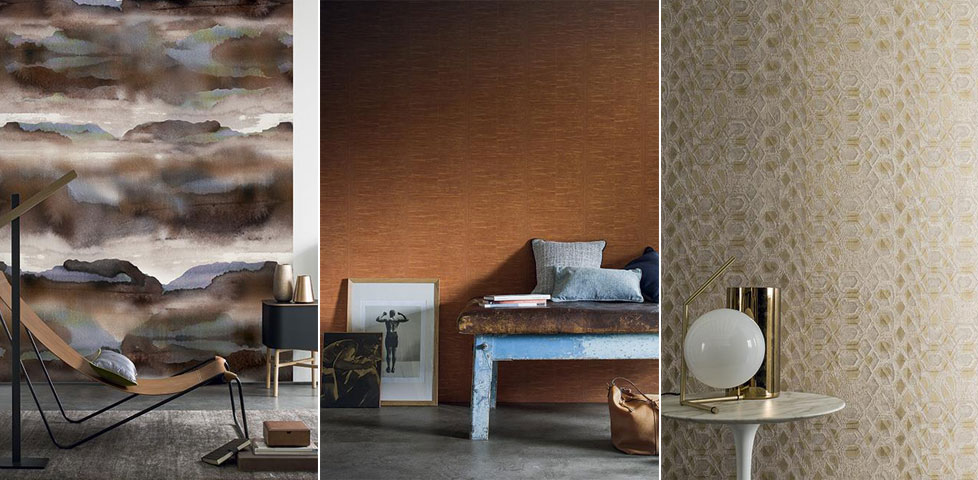 Copper Wallpapers From Casamance