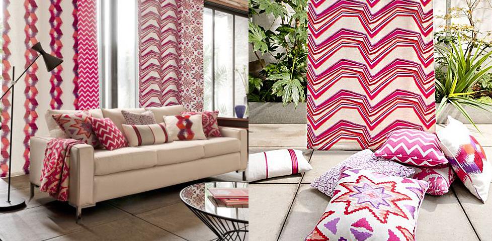 South Beach Fabrics from Clarke & Clarke