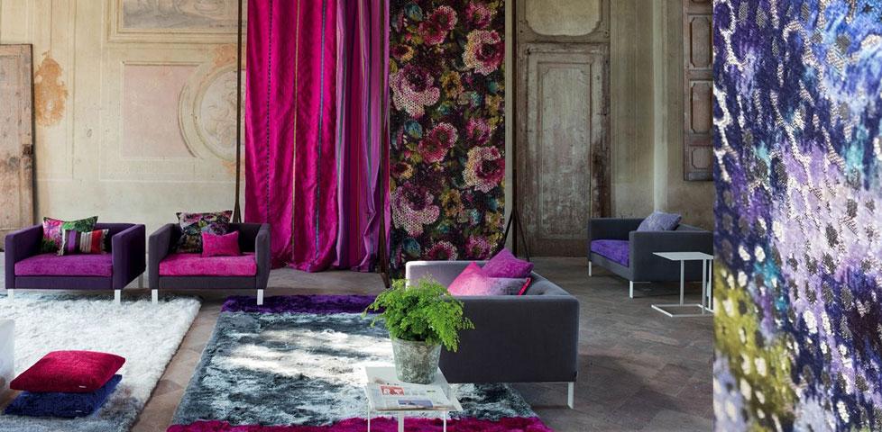 Boratti fabrics from designers guild for Designers guild bedroom ideas