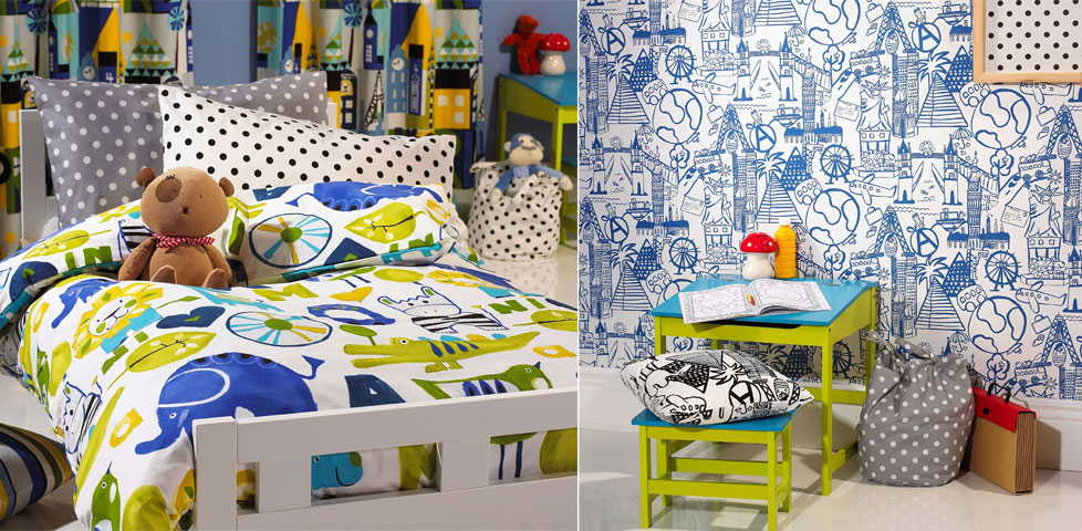 Ideal world fabrics wallpapers from prestigious textiles for Ideal home wallpaper