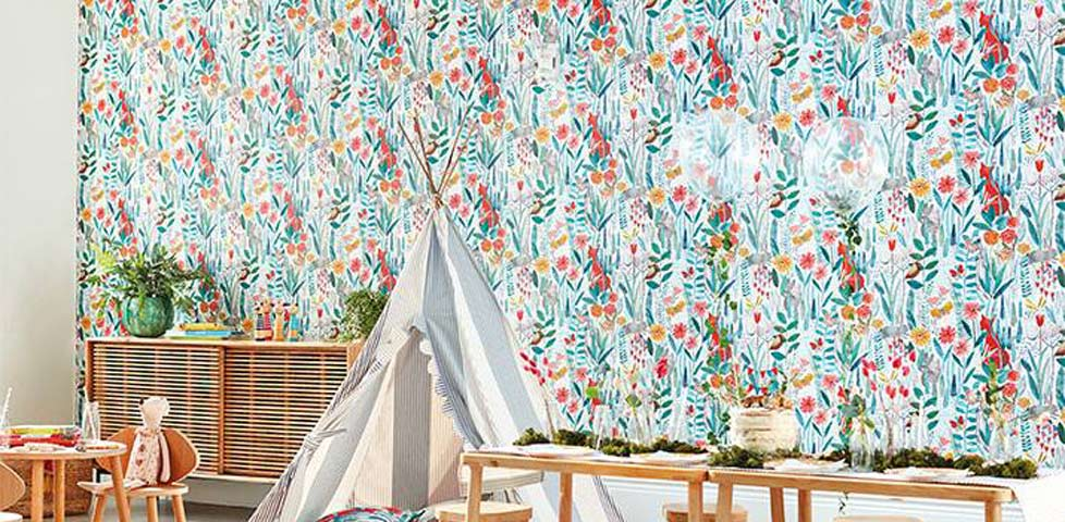 Harlequin Book of Little Treasures Wallpaper Slider 3
