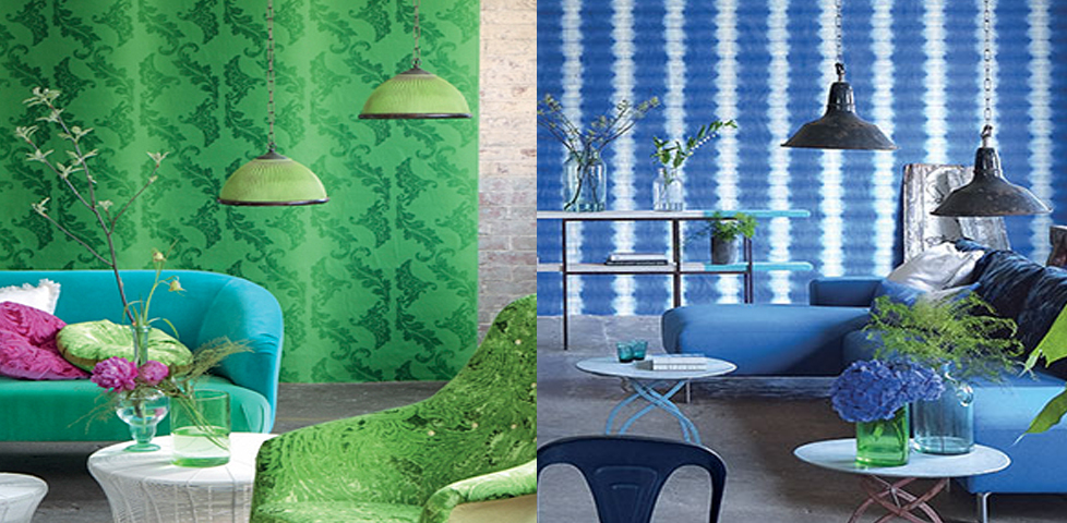 Savine Wallcoverings From Designers Guild