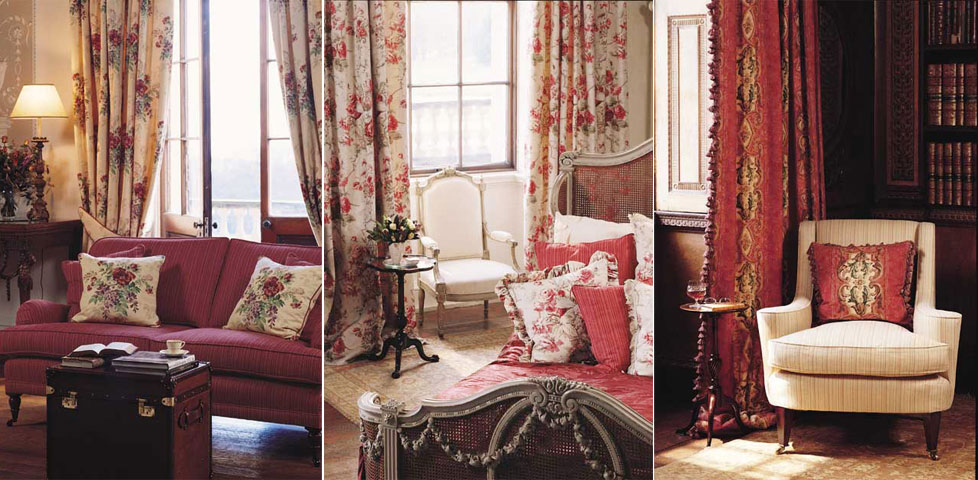 Amelie Fabrics From Scutt Coles