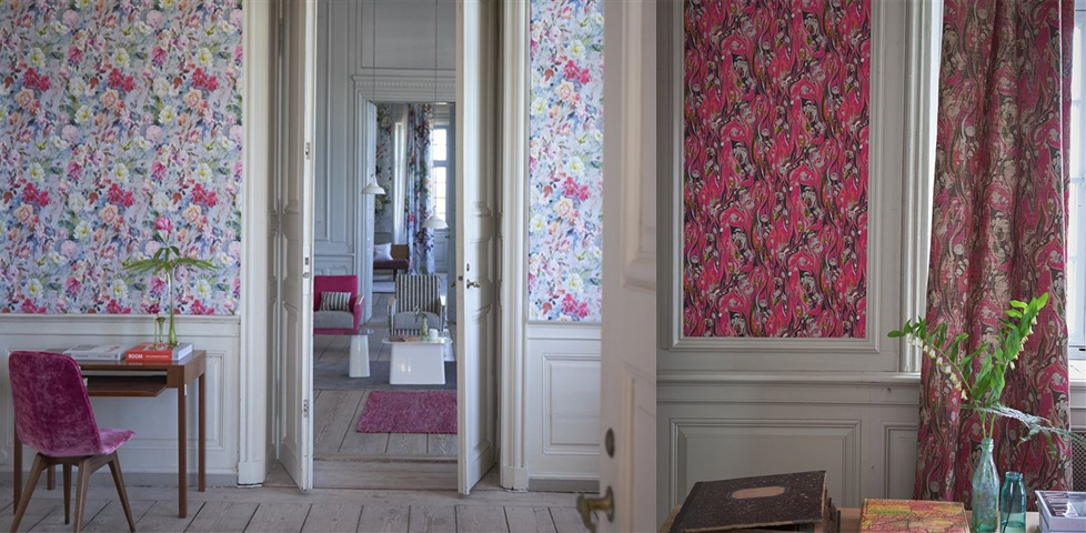 Jardin Des Plantes Wallpapers From Designers Guild