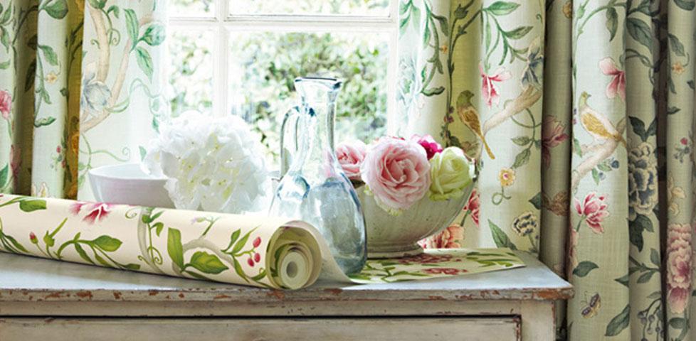 Caverley Fabrics From Sanderson