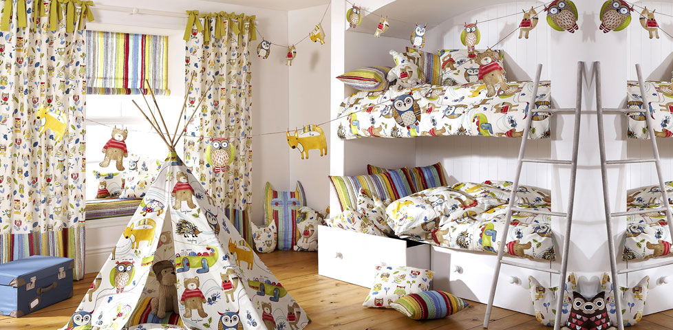 Forest Friends Fabrics From Prestigious Textiles