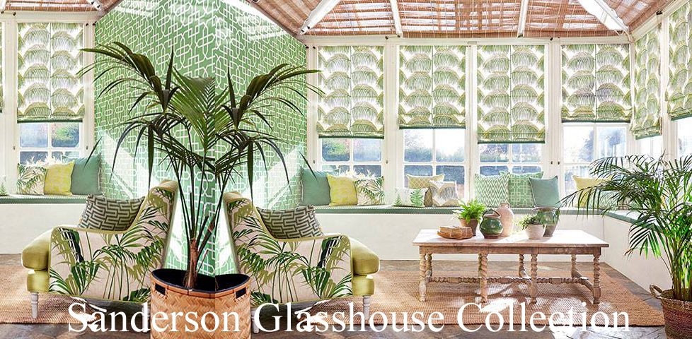 Sanderson Glasshouse collection