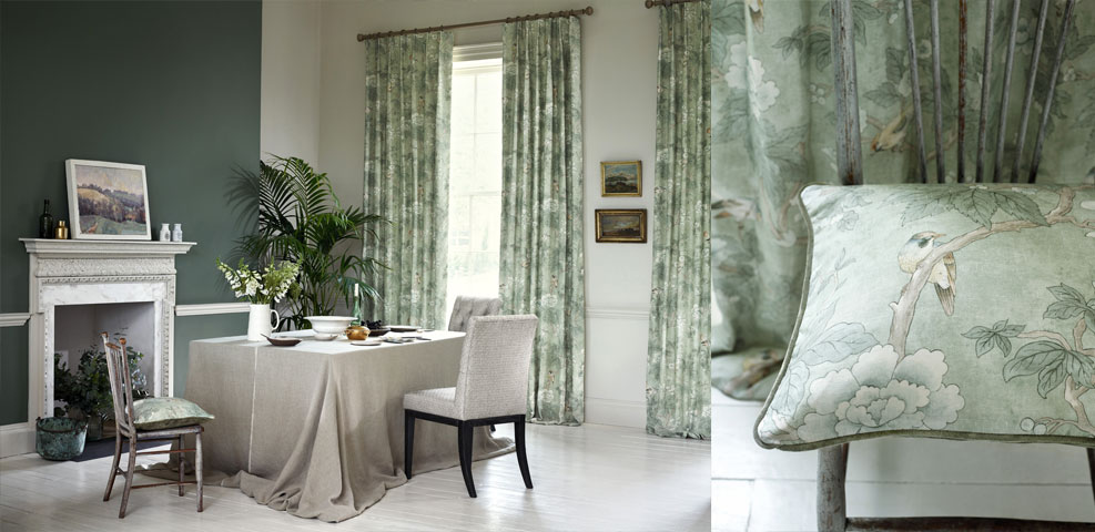 Nice House Decor Interiors Part - 7: Designer Fabrics, Wallpapers, Roman Blinds And Curtains From House Decor  Interiors