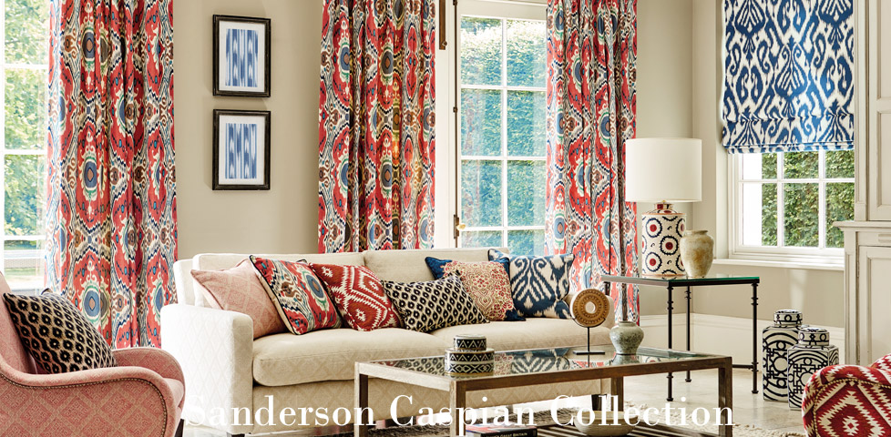 Sanderson Caspian Fabric Collection