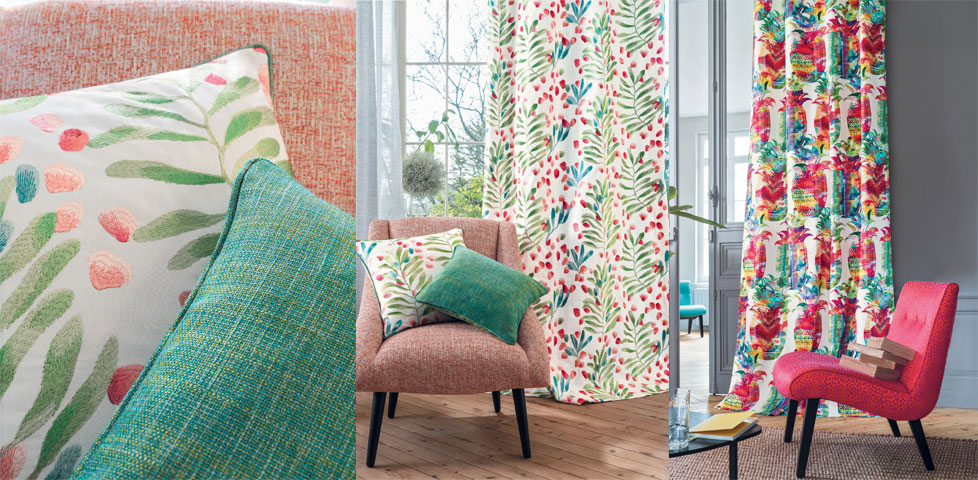 Elegant Designer Fabrics, Wallpapers, Roman Blinds And Curtains From House  Decor Interiors