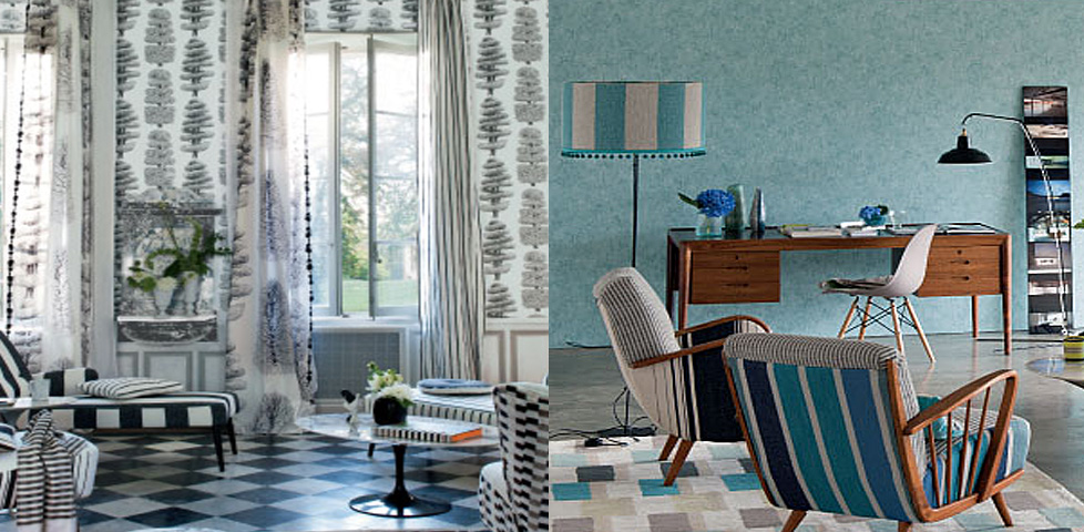 Linnaeus Wallcoverings From Designers Guild