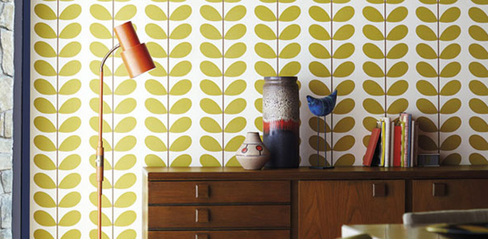 Orla Kiely Wallpapers From Harlequin