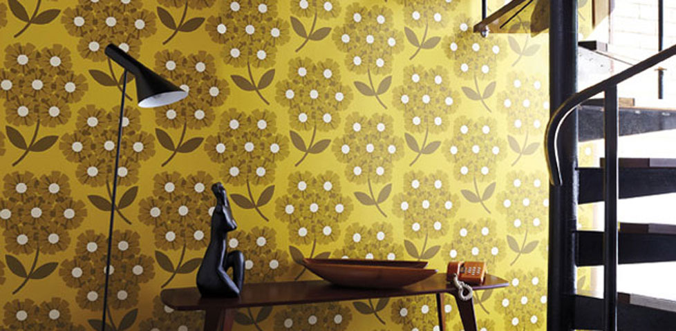 orla kiely wallpapers from harlequin. Black Bedroom Furniture Sets. Home Design Ideas