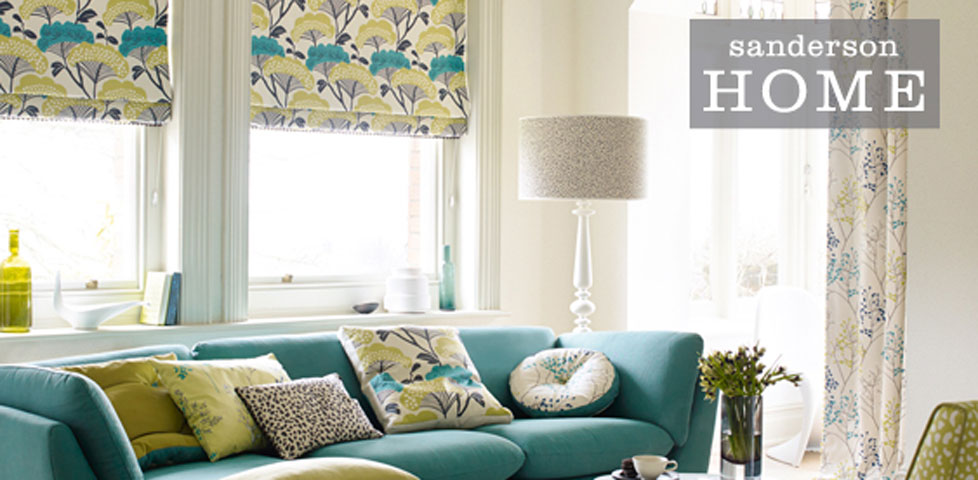 Madison fabrics wallpapers from sanderson home for Wallpaper home fabrics