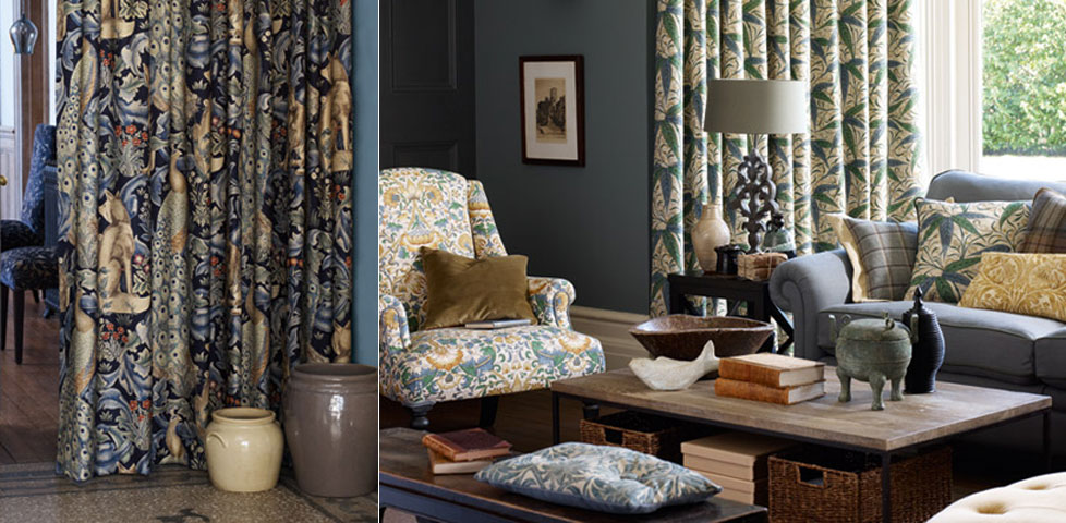 Archive Prints 2 Fabrics From William Morris Amp Co
