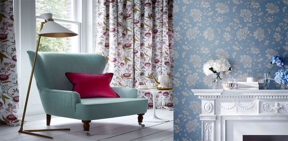Wedgwood home designer fabric and wallpaper for Wedgewood designs