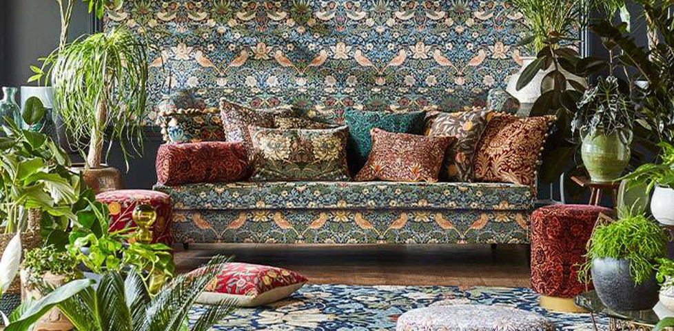Morris and Co Rouen Velvets Collection 2