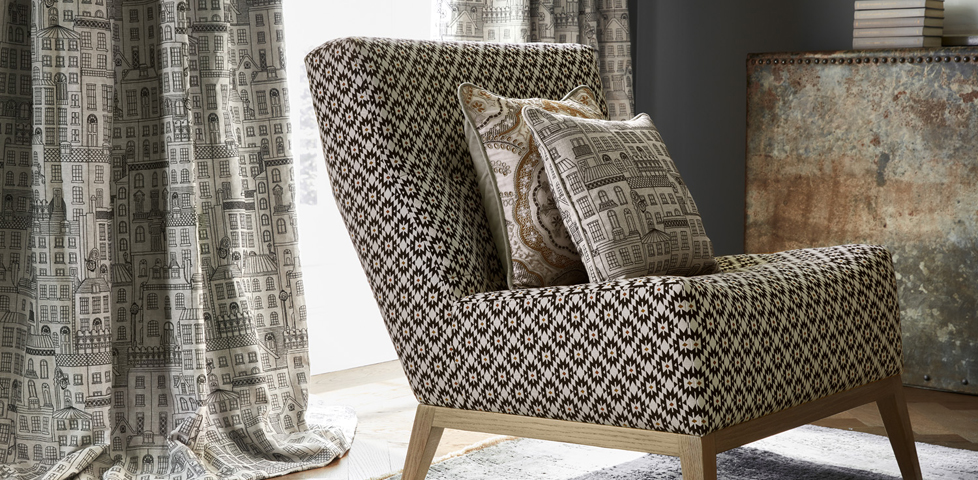 James Hare Fitzrovia Fabric Slider 3