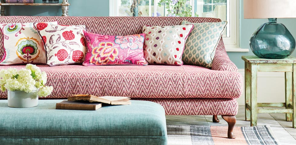 Sanderson Caspian Prints and Weaves Slider 3