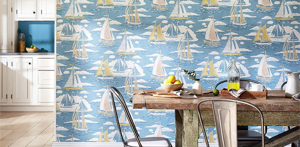 Sanderson Home Port Isaac Fabric Slider 2