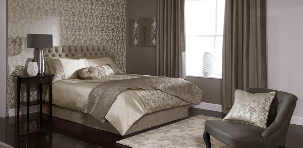 Palladio Mink Fabrics And Wallpapers From Iliv