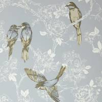 Songbird Wallpaper - Porcelain