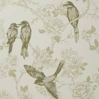 Songbird Wallpaper - Chartreuse