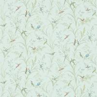 Tuileries Wallpaper - Sage/Multi