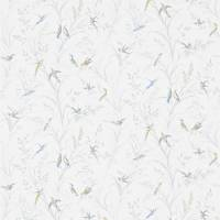 Tuileries Wallpaper - Silver/Multi
