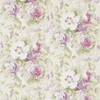 Giselle Wallpaper - Bordeaux/Olive