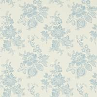 Lyon Wallpaper - Cream/Wedgewood