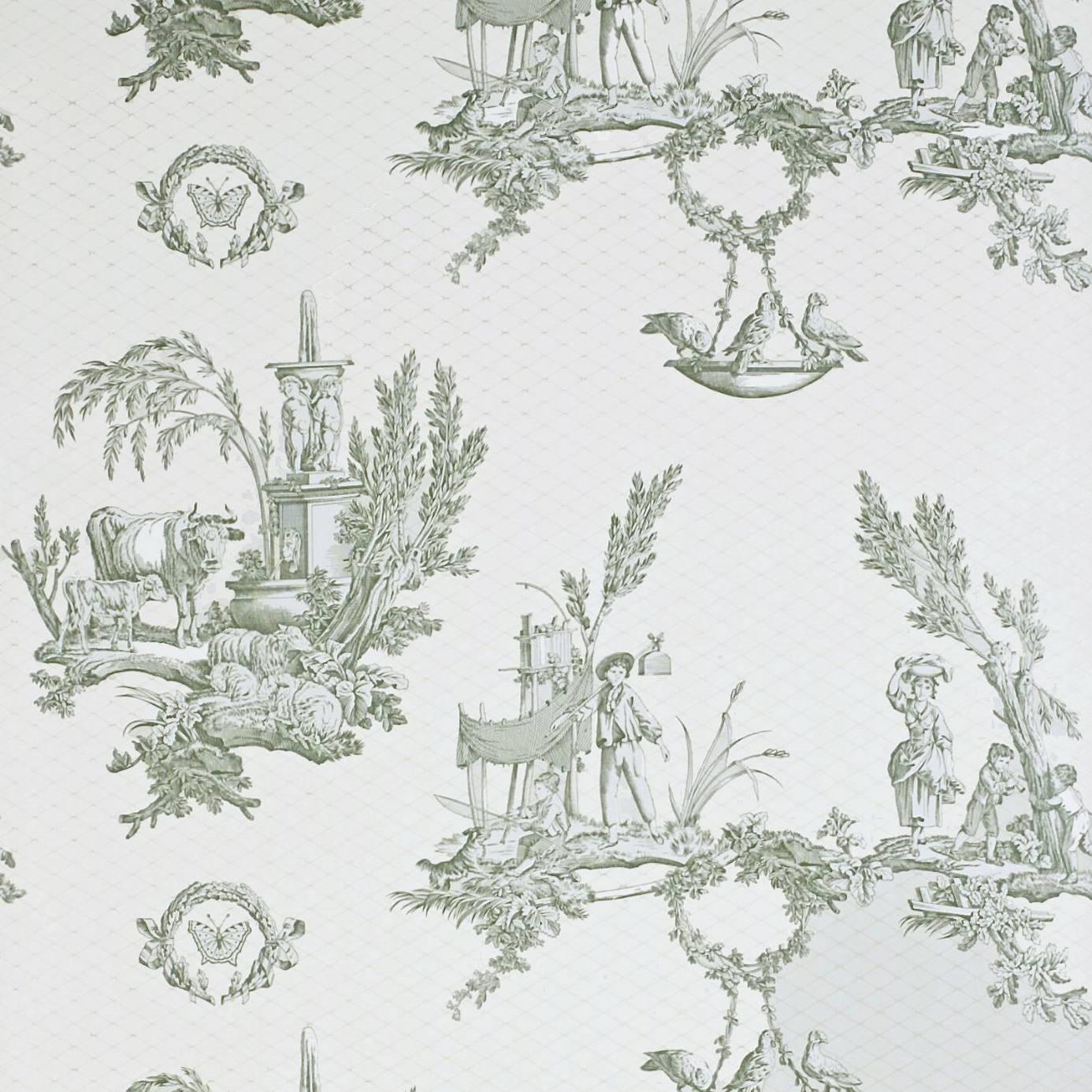 vatican doves wallpaper sandgreencream degtvd104
