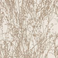Meadow Canvas Wallpaper - Gilver/Linen