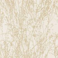 Meadow Canvas Wallpaper - Wheat/Cream