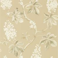 Chestnut Tree Wallpaper - Wheat/Pebble