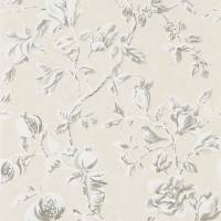 Magnolia & Pomegranate Wallpaper - Ivory/Charcoal