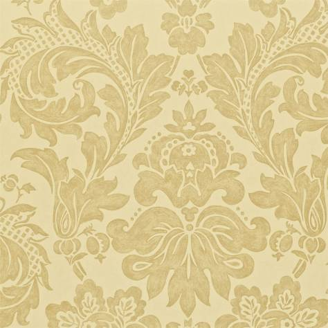 Sanderson A Painter's Garden Wallpapers Elise Wallpaper - Dark Cream - DAPGEL101