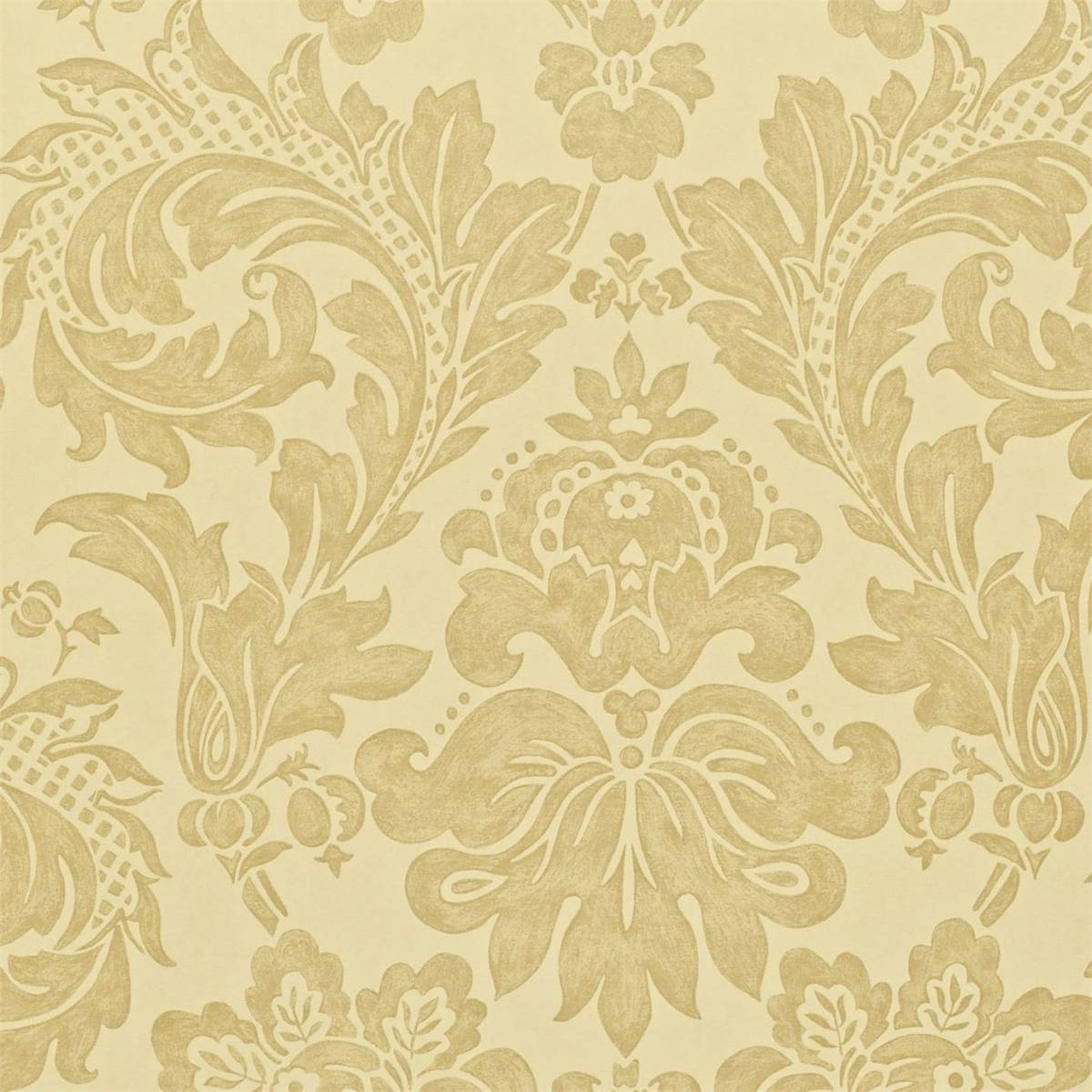 Elise Wallpaper Dark Cream Dapgel101 Sanderson A
