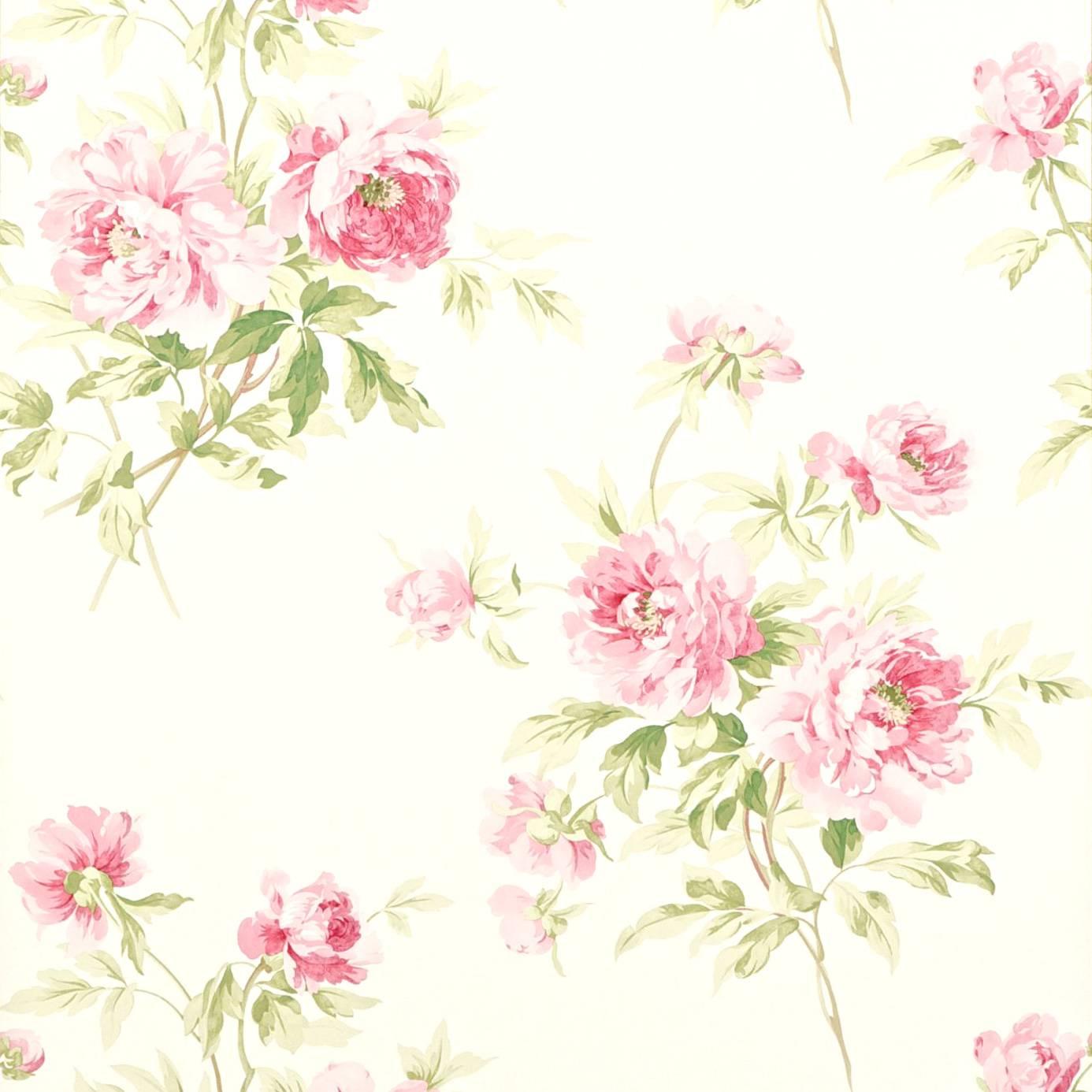 Adele Wallpaper RoseCream DCAVAD101 Sanderson